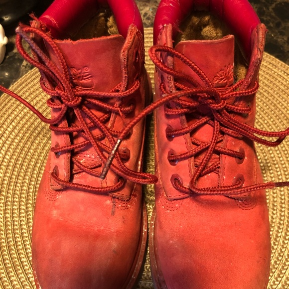 Red Boots Youth Sz13   Poshmark